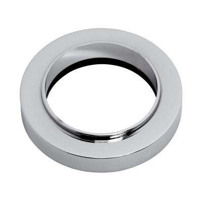 Spout Trim Ring/Escutcheon, Polished Chrome