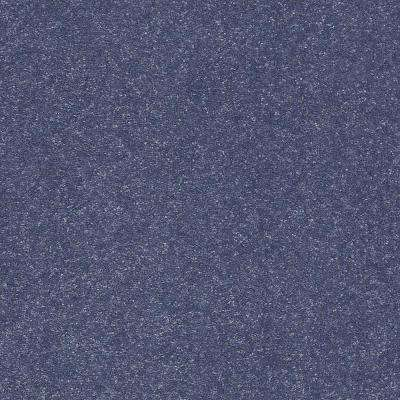Carpet Sample - Full Bloom II 12 - In Color Denim Days 8 in. x 8 in.
