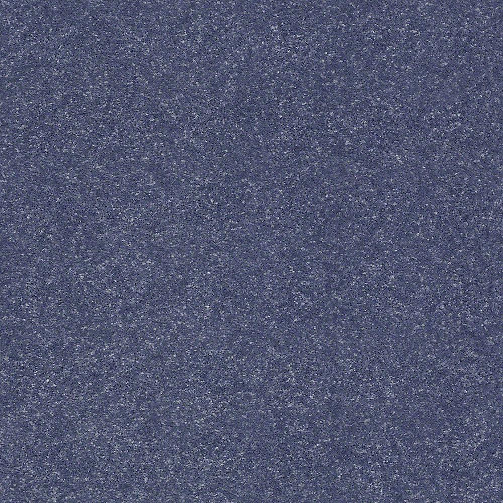 Carpet Sample - Full Bloom I 12 - In Color Denim Days 8 in. x 8 in.