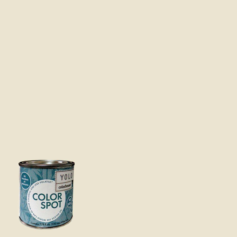YOLO Colorhouse 8 oz. Air .02 ColorSpot Eggshell Interior Paint Sample-DISCONTINUED