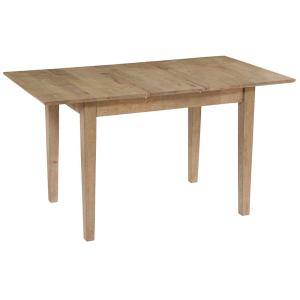 Deals on Progressive Furniture Barcelona Oak Buttefly Dining Table