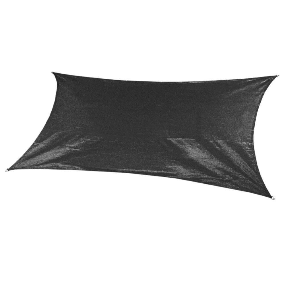 Coolaroo 12 Ft X 10 Ft Slate Grey Rectangle Ultra Shade Sail
