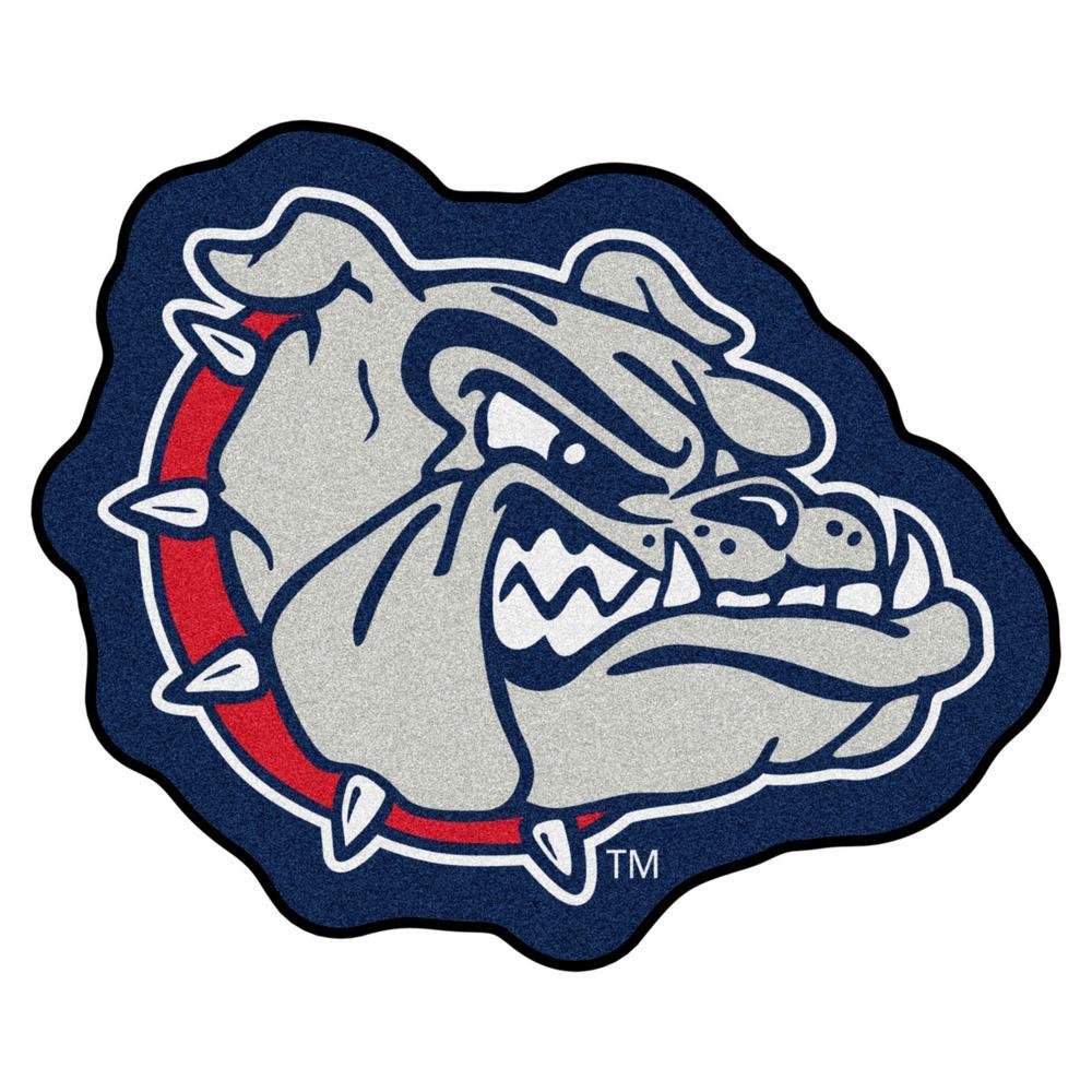 490c1dac0176c FANMATS NCAA - Gonzaga University Mascot Mat 30 in. x 30.4 in. Indoor Area  Rug