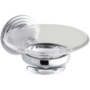 Kohler Devonshire Soap Dish in Polished Chrome by KOHLER