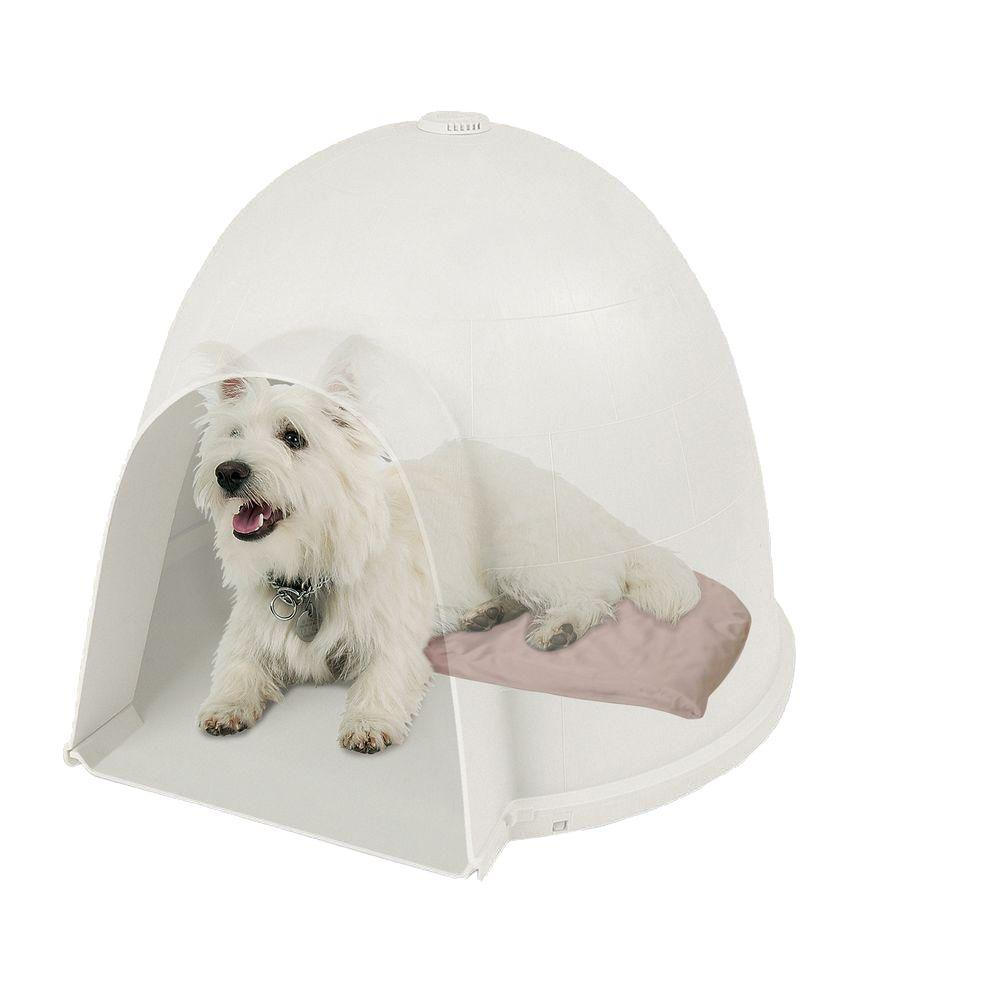 K&H Pet Products 11.5 in. x 18 in. 20-Watt Small Lectro-Soft Igloo Style Heated Bed