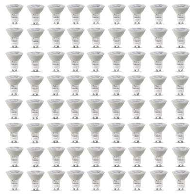 50-Watt Equivalent MR16 GU10 Dimmable CEC Title 20 Compliant LED 90+ CRI Frosted Flood Light Bulb Bright White (72-Pack)