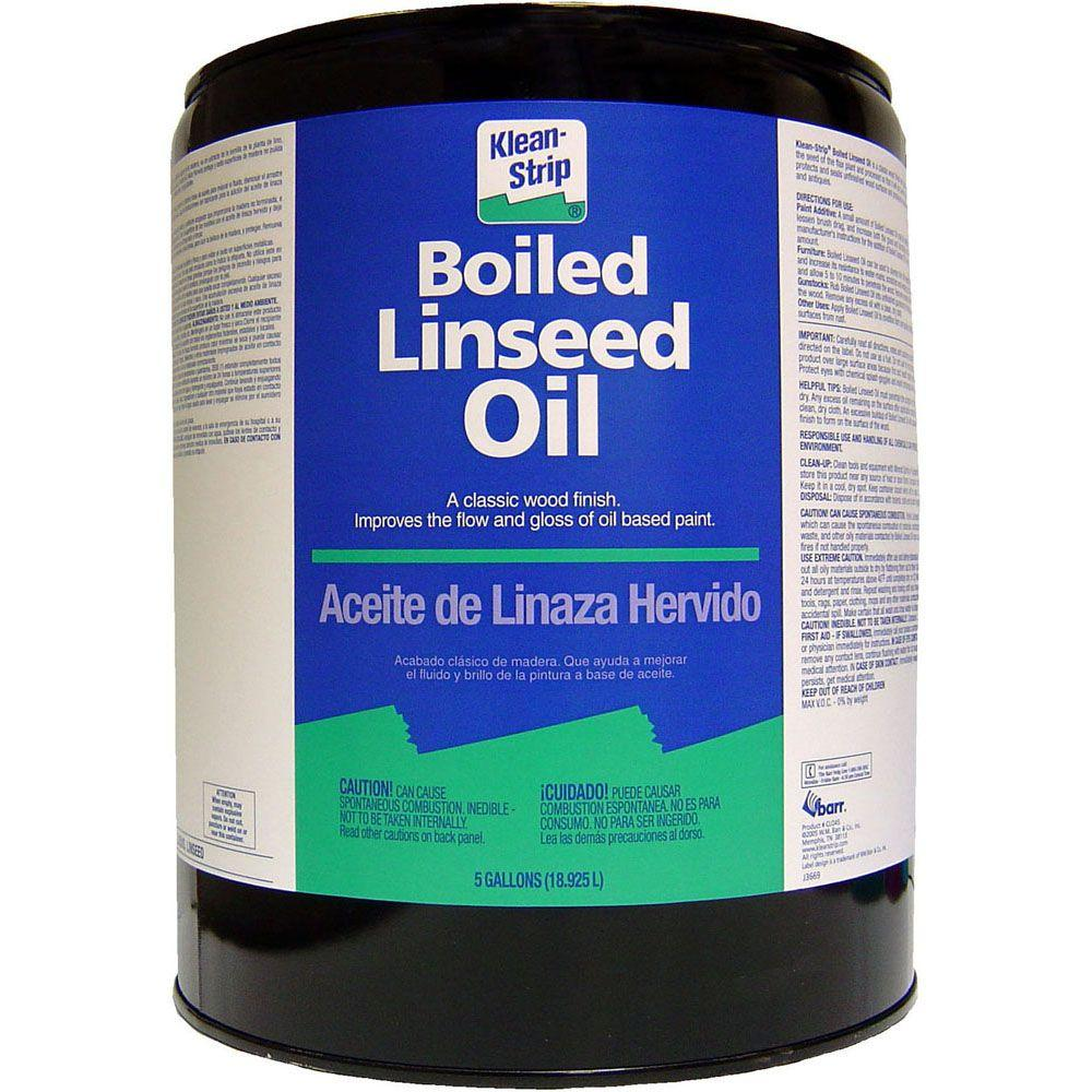Klean-Strip 5-gal  Boiled Linseed Oil