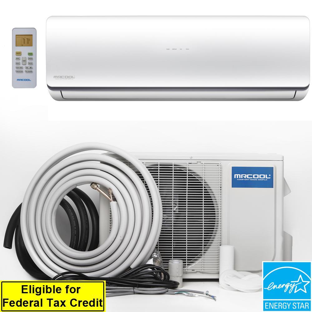 Oasis Hyper Heat 18,000 BTU 1.5 Ton Ductless Mini-Split Air Conditioner and Heat Pump - 230V/60Hz