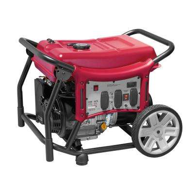 CX 5500-Watt Gasoline Powered Manual Start Portable Generator with Power Mate Engine