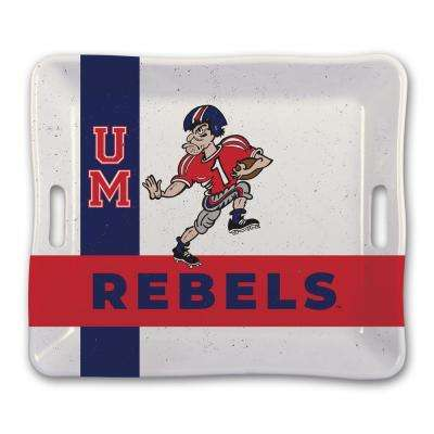 University of Mississippi Ole Miss Melamine Serving Tray