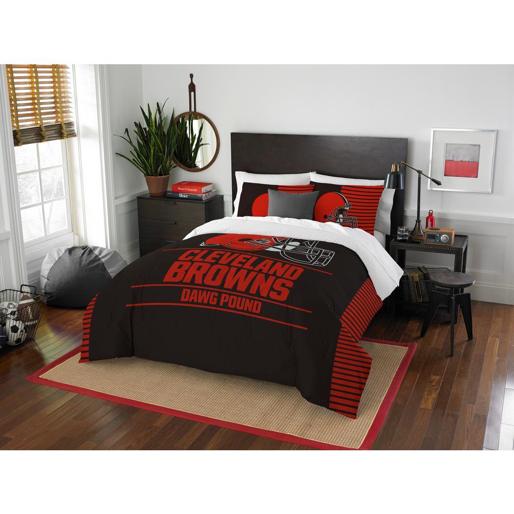 Browns 3-Piece Draft Multi Full/Queen Comforter Set 1NFL849000005RET