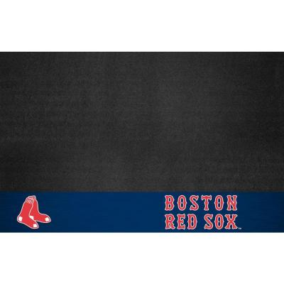 Boston Red Sox 26 in. x 42 in. Grill Mat