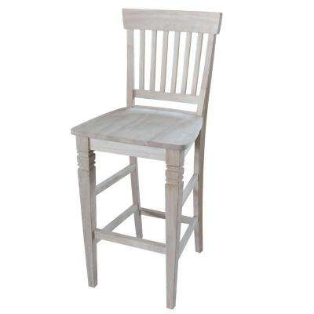 unfinished bar stools. Unfinished Wood Bar Stool Stools U