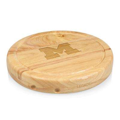 Michigan Wolverines Circo Wood Cheese Board Set with Tools