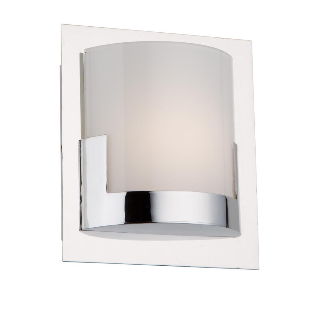 Filament Design 1 Light Chrome Bath Light Cli Acg006972 The Home Depot