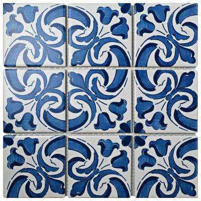 Affinity Monarch Amiana 11-3/4 in. x 11-3/4 in. x 6 mm Porcelain Mosaic Tile