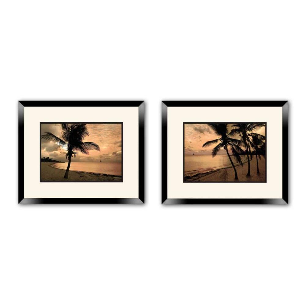 "18 in. x 20 in. ""Inspirational"" Double Matted Framed Wall Art"