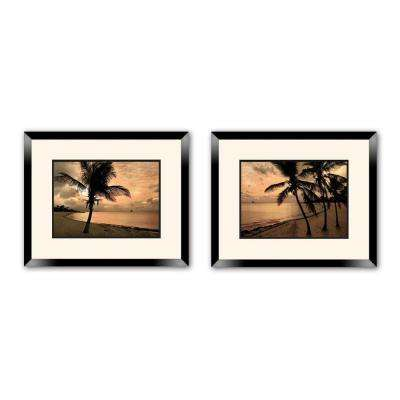 "18 in. x 20 in. ""Inspirational"" Double Matted Framed Wall Art (2-Piece)"
