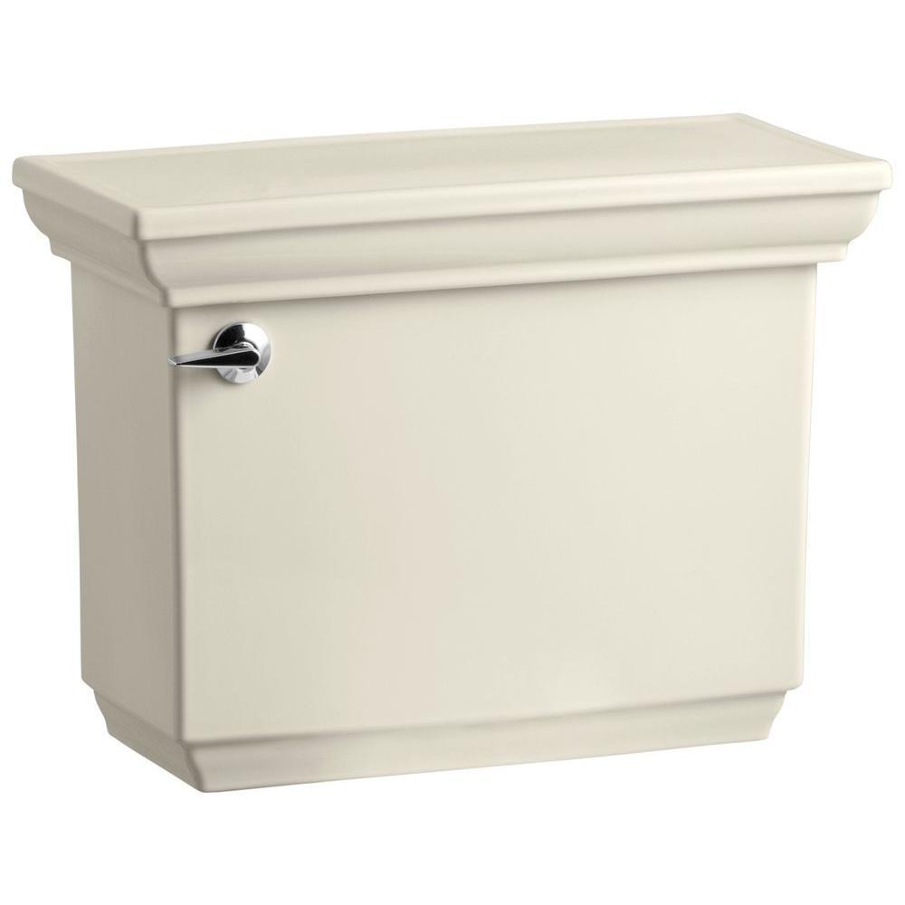 KOHLER Memoirs Comfort Height 1.6 GPF Single Flush Toilet Tank Only with AquaPiston Flush Technology in Almond