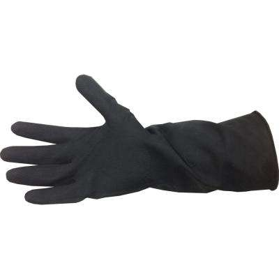 Black Neoprene Long Cuff Gloves (One Size Fits All)