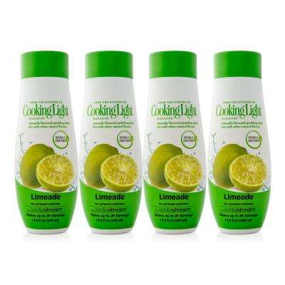 440 ml Cooking Light Sparkling Limeade Drink Mix (Case of 4)
