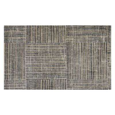 In-Home Washable/Non-Slip Canvas 2 ft. 3 in. x 3 ft. 11 in. Area Rug & Mat