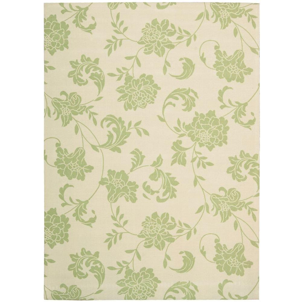 Home and Garden Bouquet Green 7 ft. 9 in. x 10