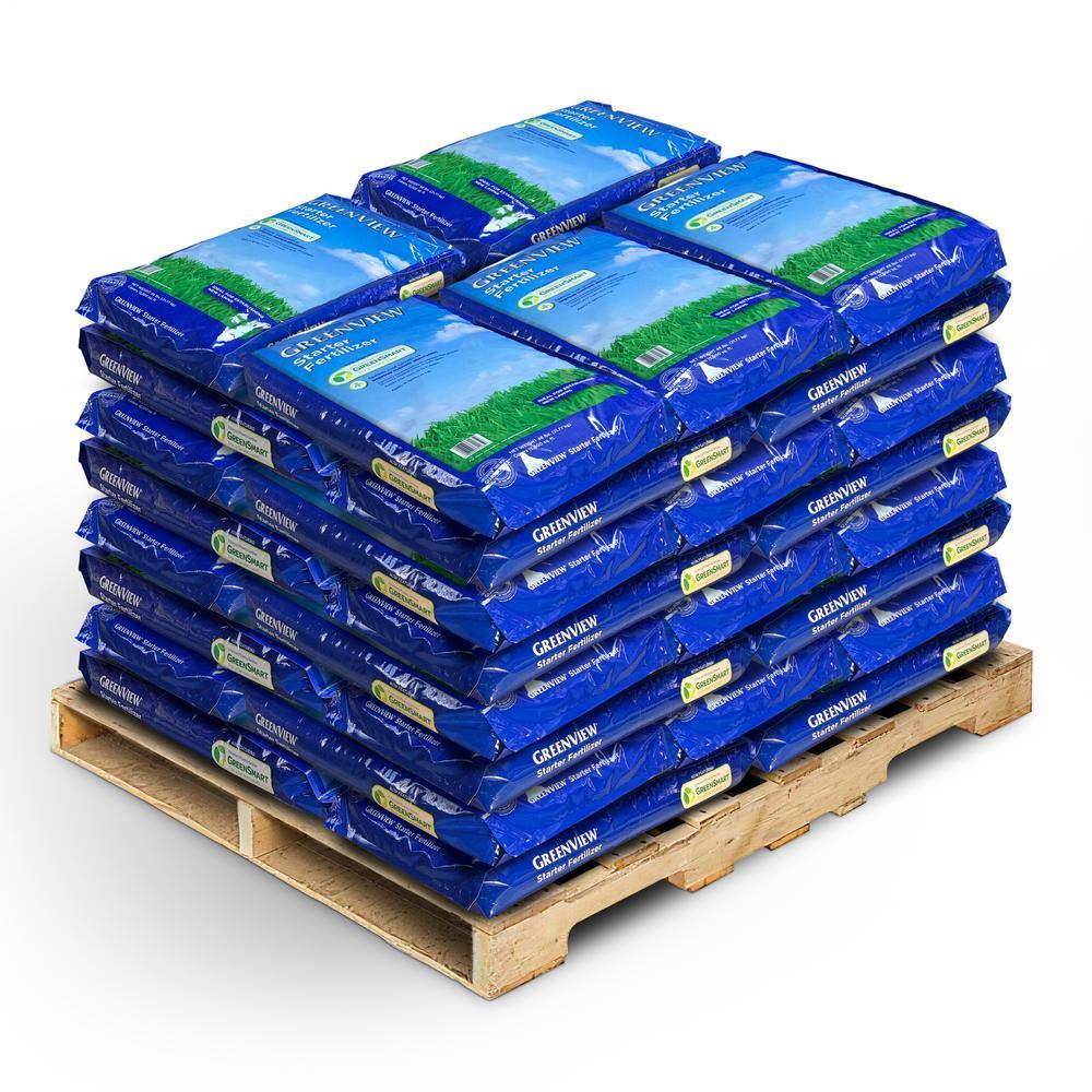 48 lbs. Starter Fertilizer (40-Bags/600,000 sq. ft./Pallet)