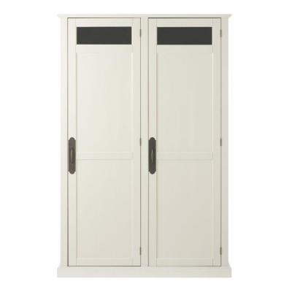 ExclusivePayton Polar White Storage Locker with Double Doors (47.5 in. W x 72.25 in. H x 18 in. D)