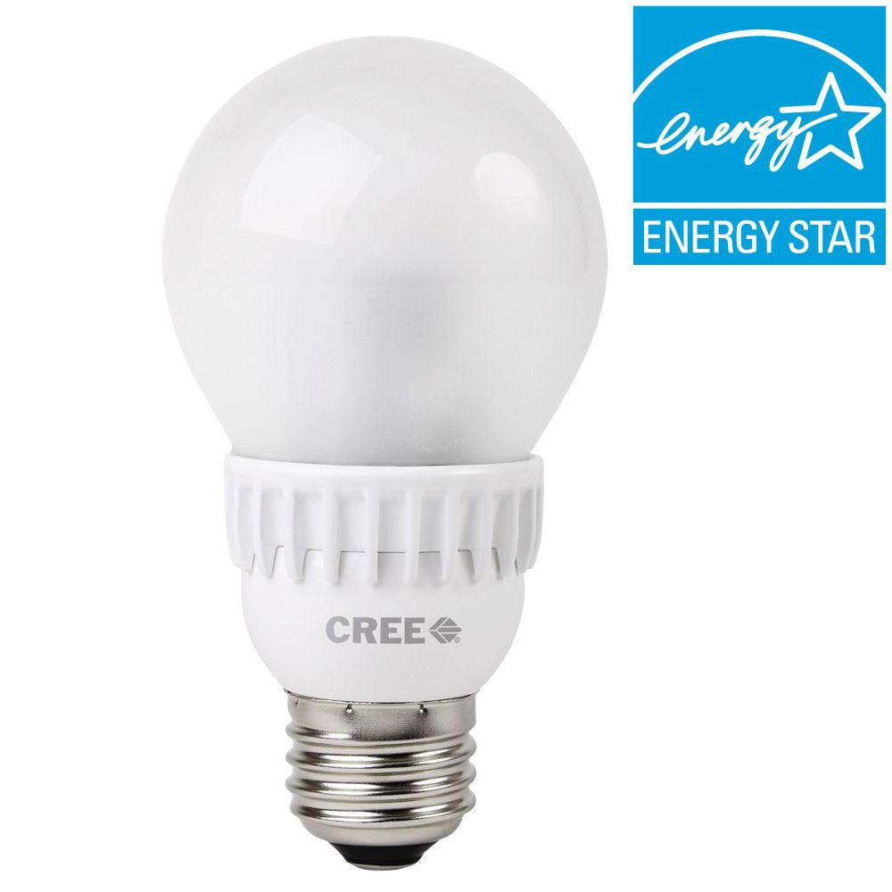Cree 60W Equivalent Daylight (5000K) A19 Dimmable LED Light Bulb