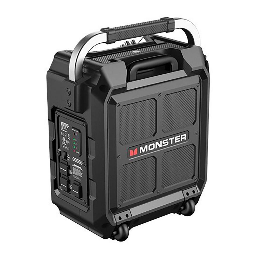 Rockin Roller 3 100-Watt 8 in. Subwoofer with 3 in. Full Range Bluetooth Wireless Speaker