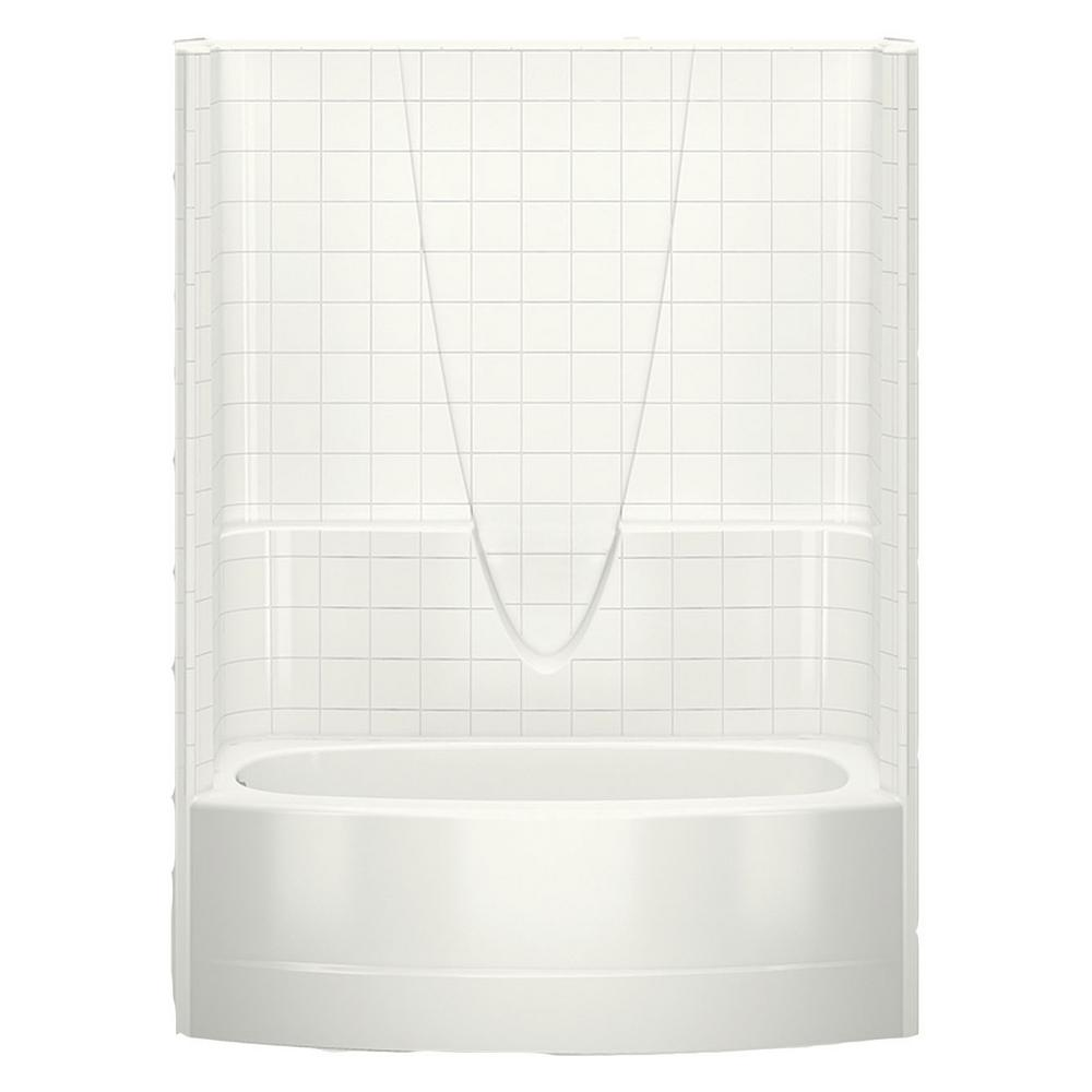 Everyday Smooth Tile 60 in. x 36.3 in. x 77.3 in.