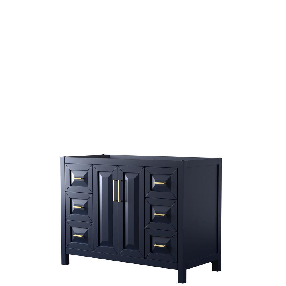 Daria 47 in. Single Bathroom Vanity Cabinet Only in Dark Blue