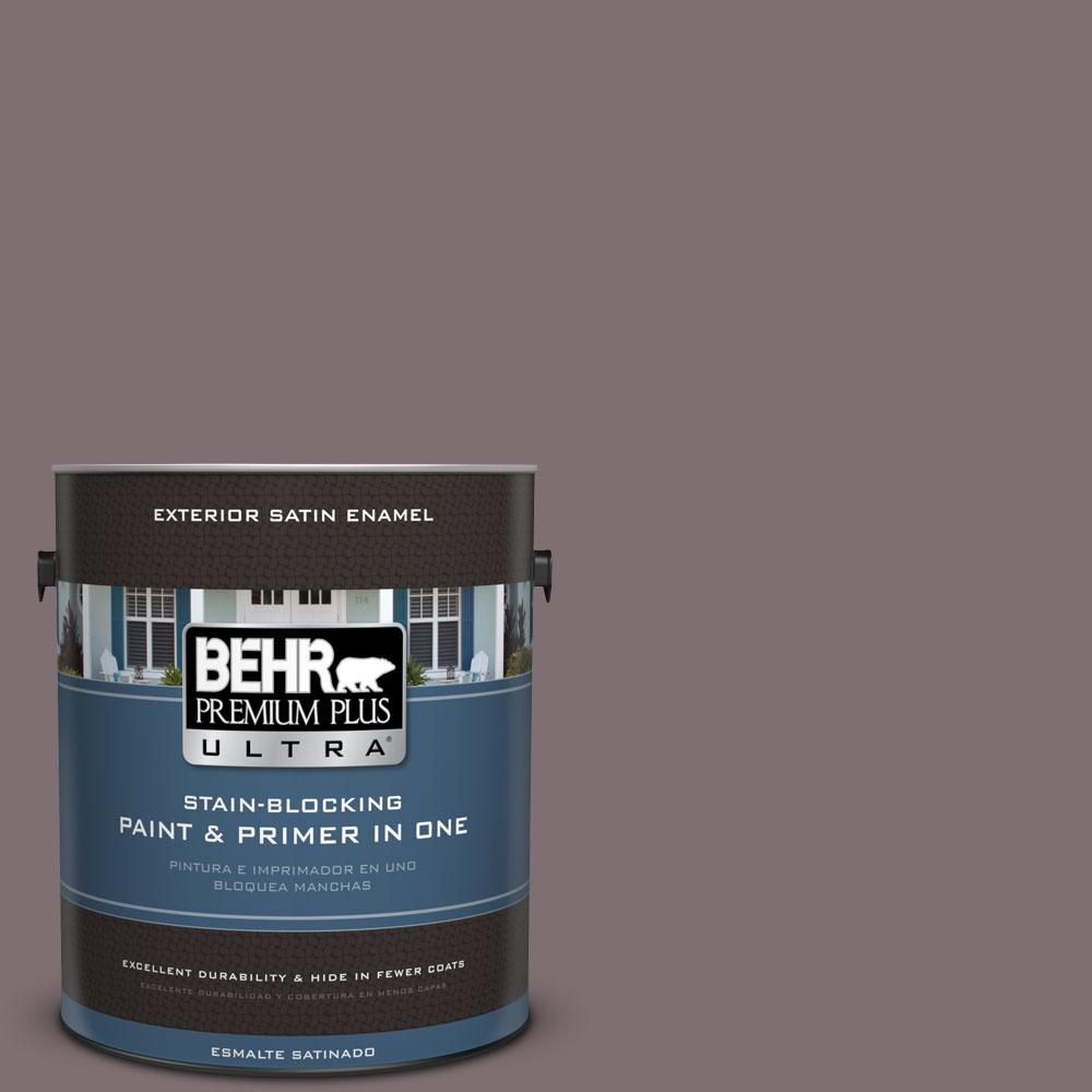 BEHR Premium Plus Ultra 1-gal. #N110-5 Royal Raisin Satin Enamel Exterior Paint