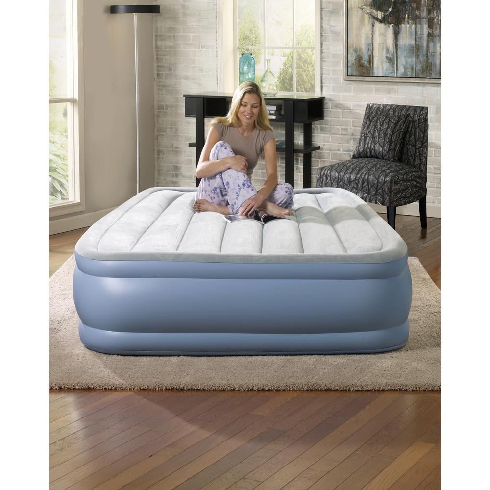 Beautyrest Full 16 in. Hi Loft Raised Adjustable Air Bed ...
