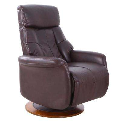 Orleans Espresso Air Leather Recliner