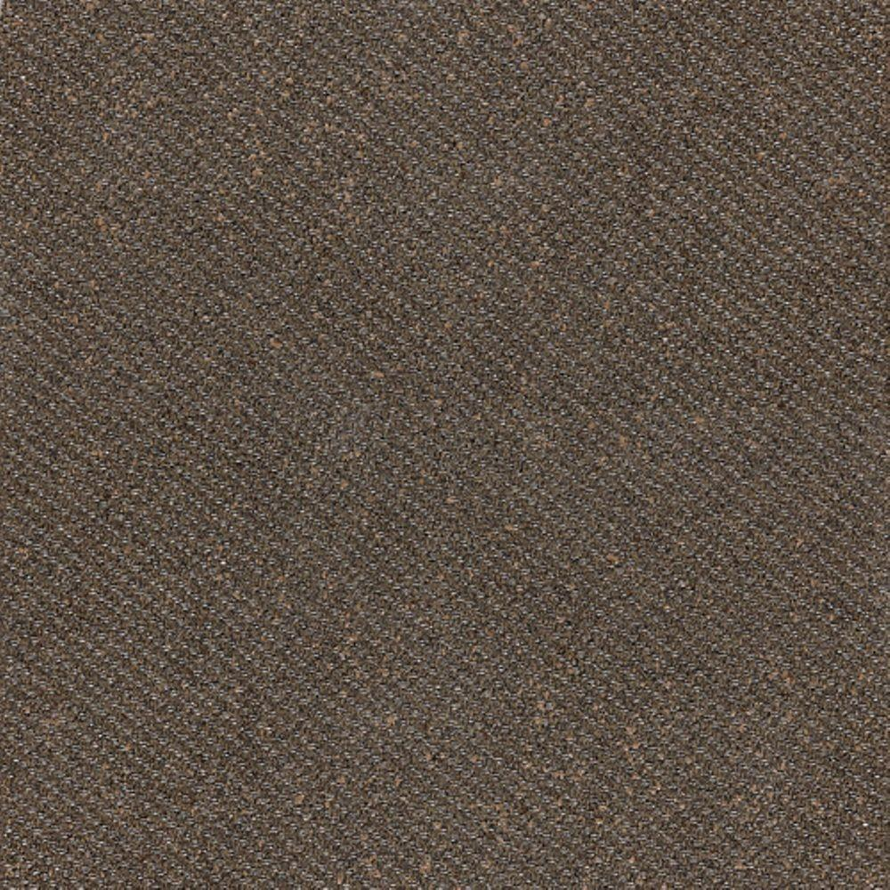 Daltile Identity Oxford Brown Fabric 12 in. x 12 in. Porcelain Floor and Wall Tile (11.62 sq. ft. / case)-DISCONTINUED