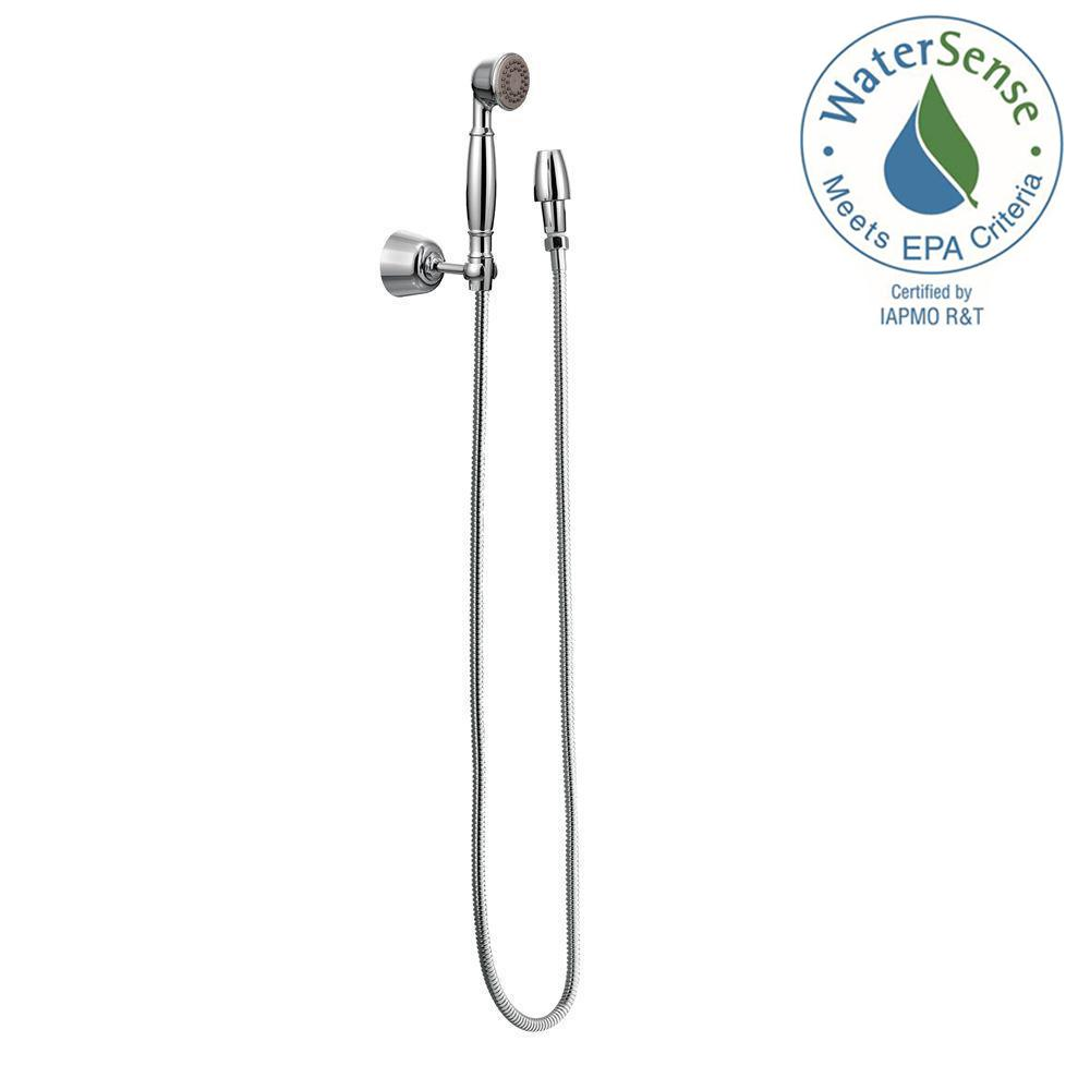 Moen Attract 6 Spray 55 In Handheld Shower With Magnetix Chrome Diagrams As Well Pull Out Wand Replacement Parts On Eco 1 And Wall Bracket