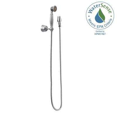 Eco 1-Spray Handheld Shower and Wall Bracket in Chrome