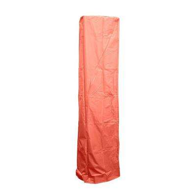 92 in. Heavy Duty Paprika Square Glass Tube Heater Cover