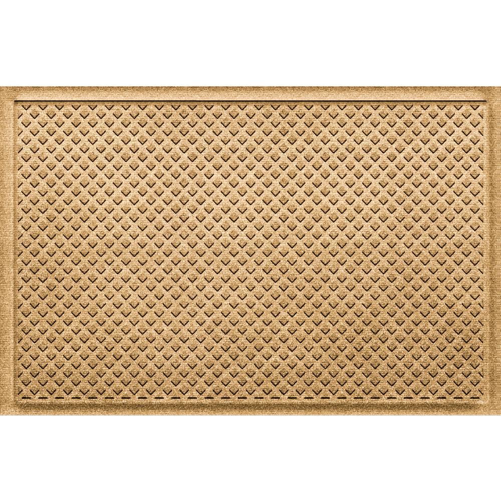 Gems Gold 24 in x 36 in Polypropylene Door Mat