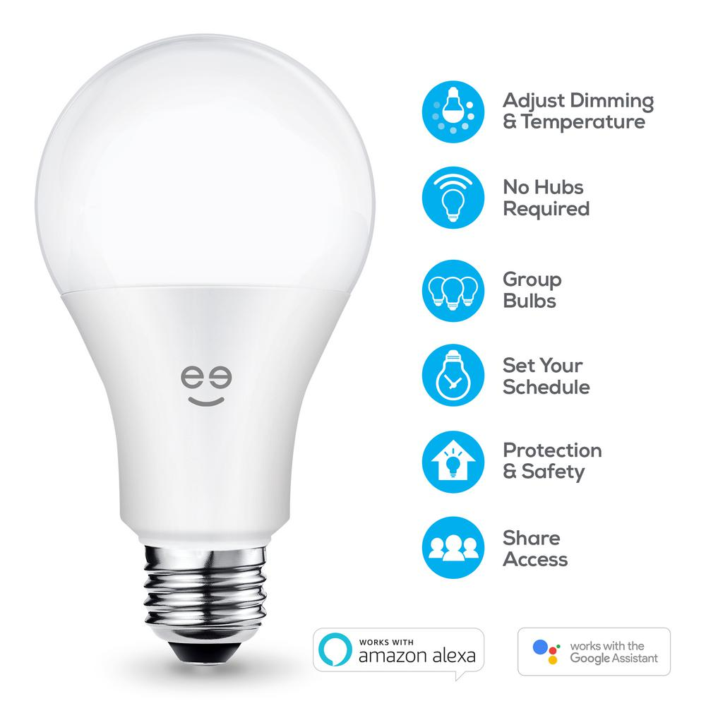 finest selection 3ffc4 d7c81 Geeni LUX 1050 75W Equivalent White A21 Smart LED Bulb