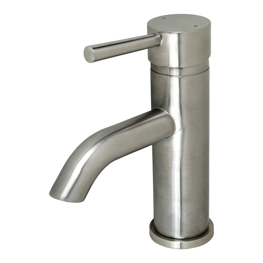 Luxier Single Hole Single-Handle Bathroom Faucet with drain in Brushed Nickel was $109.95 now $74.95 (32.0% off)