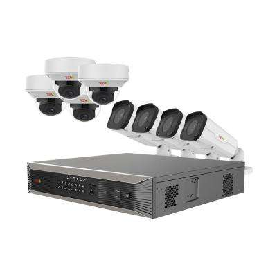 Ultra HD 16-Channel 4TB NVR Surveillance System with 8 4K Cameras