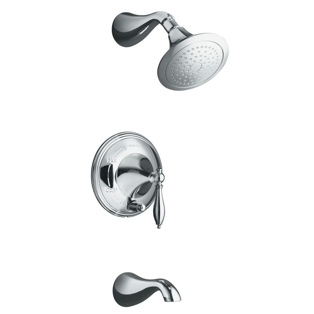 Kohler Finial Traditional Bath And Shower Faucet Trim Only In
