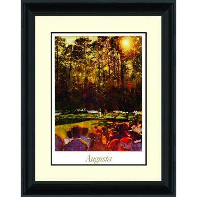 27.25.in x 38.5.in''Augusta'' By PTM Images Framed Printed Wall Art