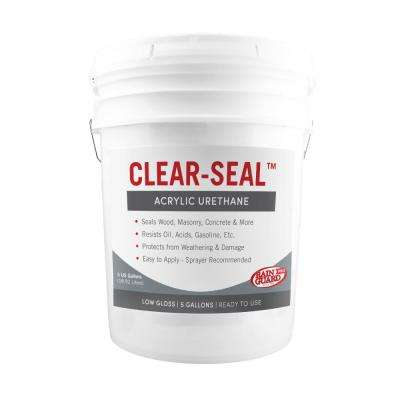 Clear-Seal 5 gal. Surface Low Gloss Urethane Sealer
