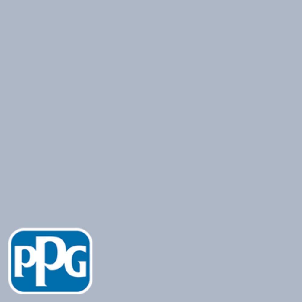 PPG TIMELESS 8 oz. #HDPPGV37 Byzantine Blue Eggshell Interior/Exterior Paint Sample