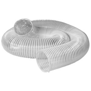 Universal Clear Dust Collection Hose 4 Inch 20 Feet Debris Extractor Woodworking