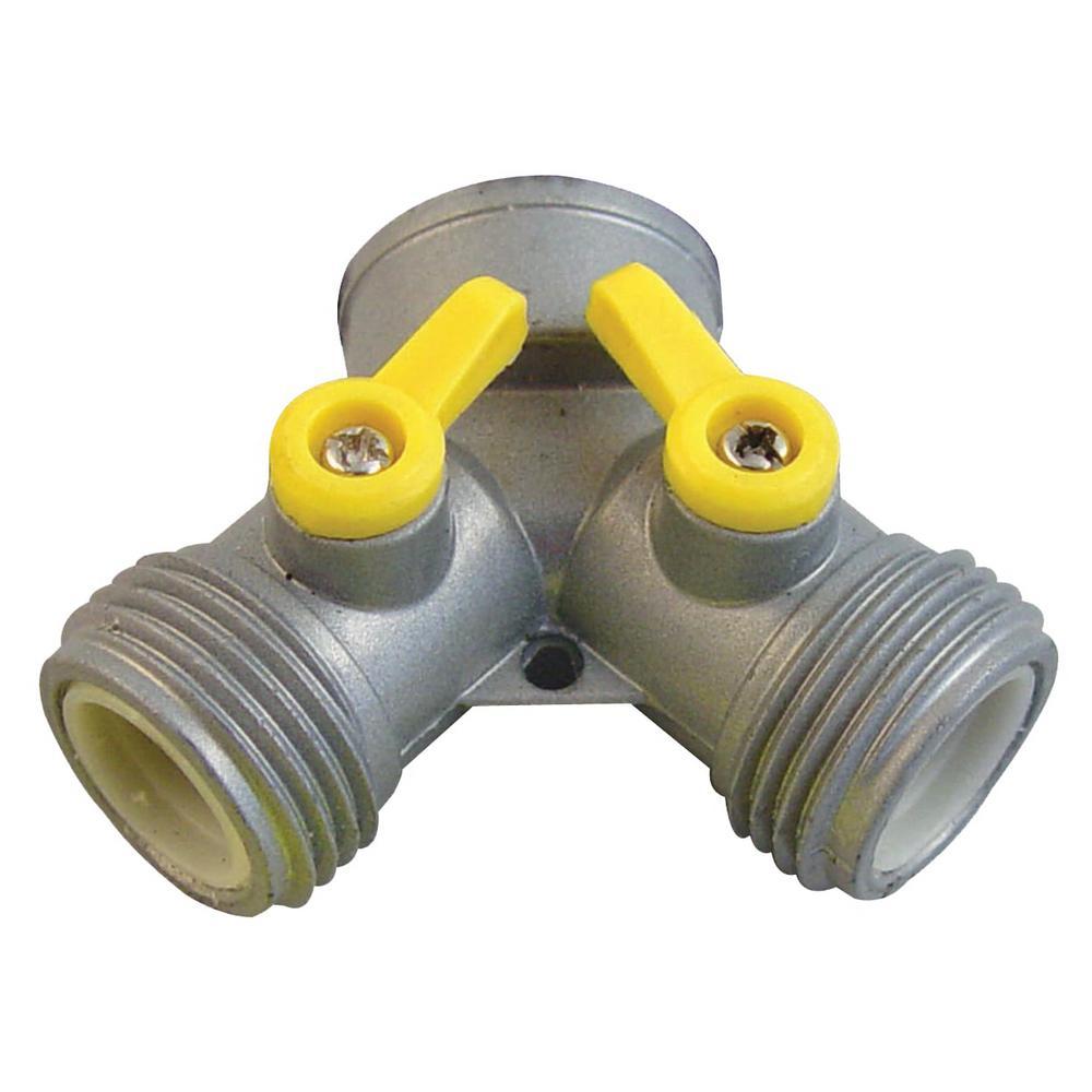 Orbit 5/8 in  - 3/4 in  Zinc Male Hose Mender-56687 - The
